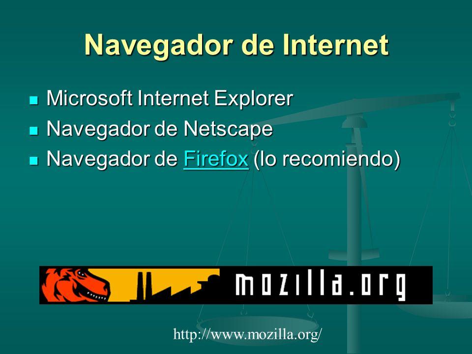 Navegador de Internet Microsoft Internet Explorer