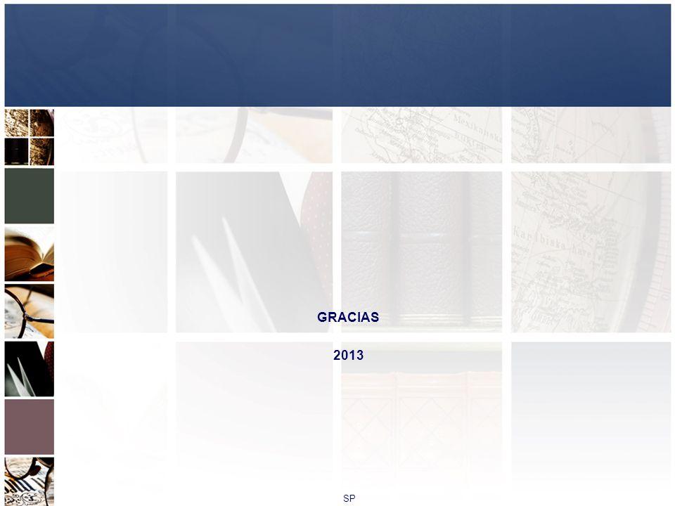 GRACIAS 2013 SP