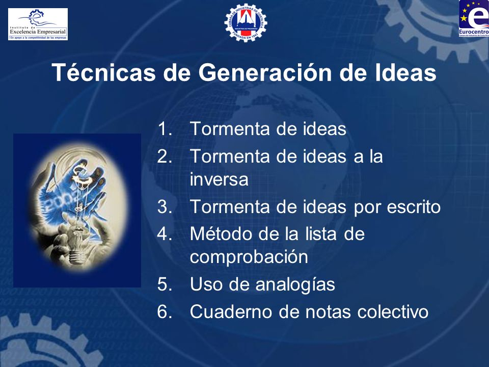 Técnicas de Generación de Ideas
