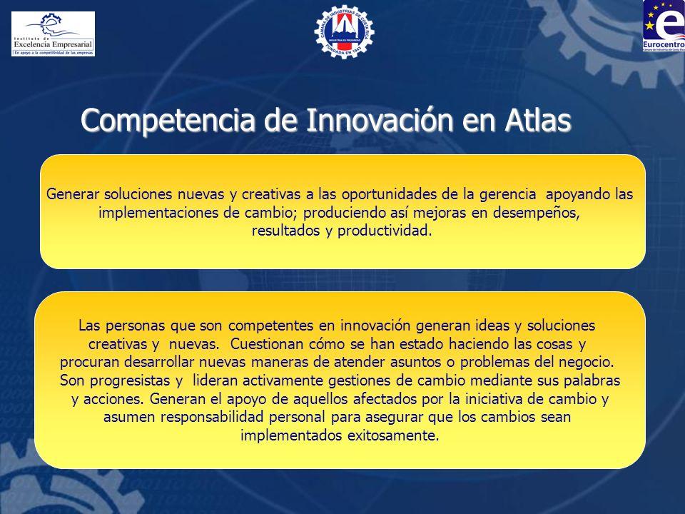 Competencia de Innovación en Atlas