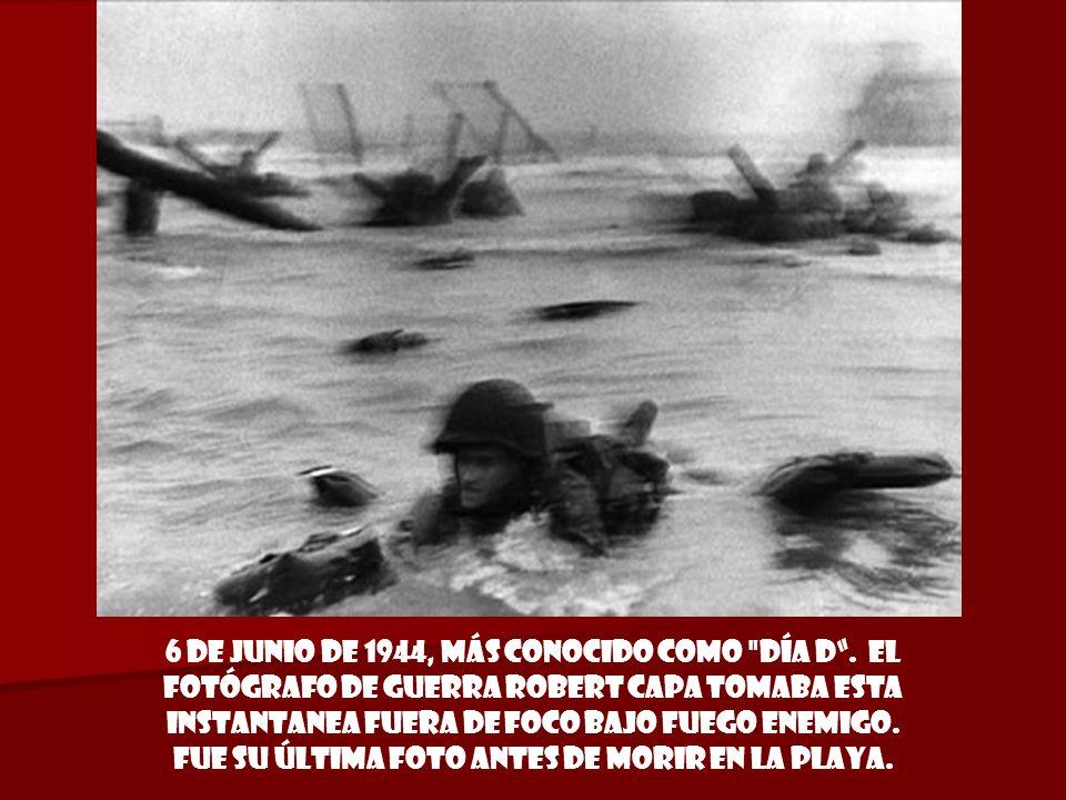 6 de junio de 1944, más conocido como día D