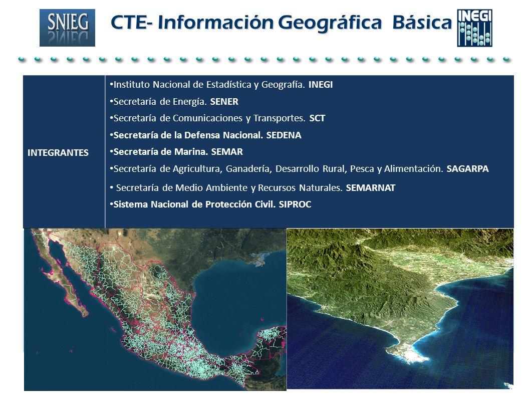 CTE- Información Geográfica Básica