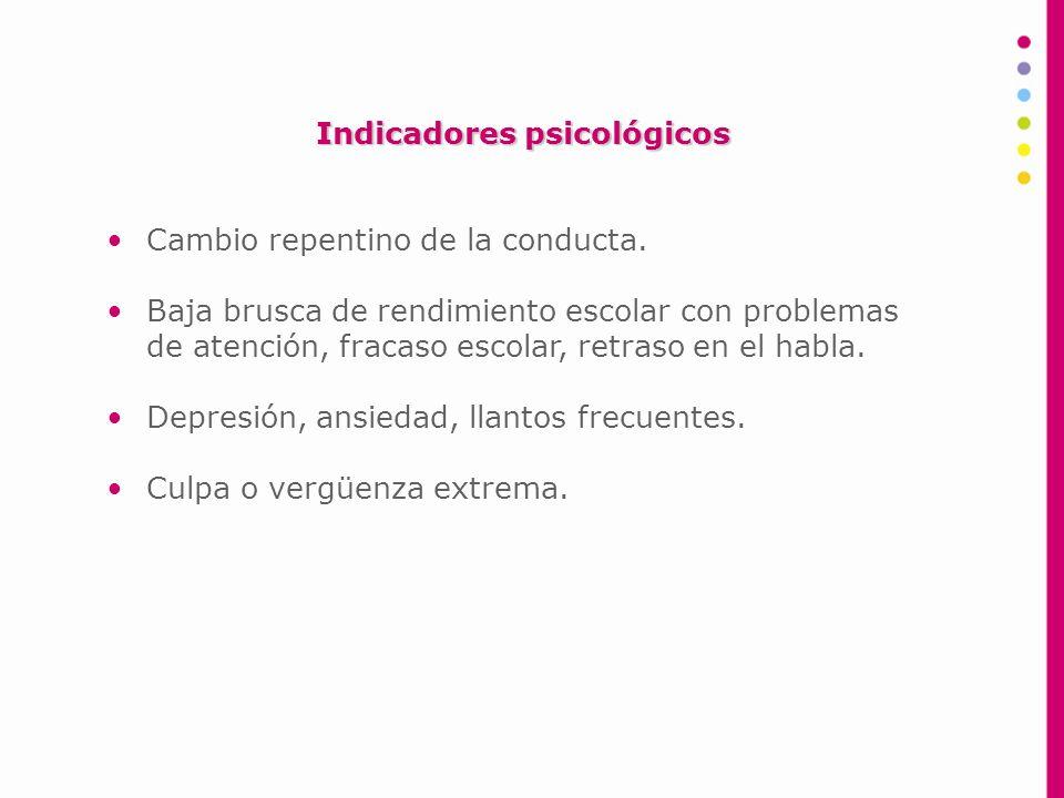 Indicadores psicológicos