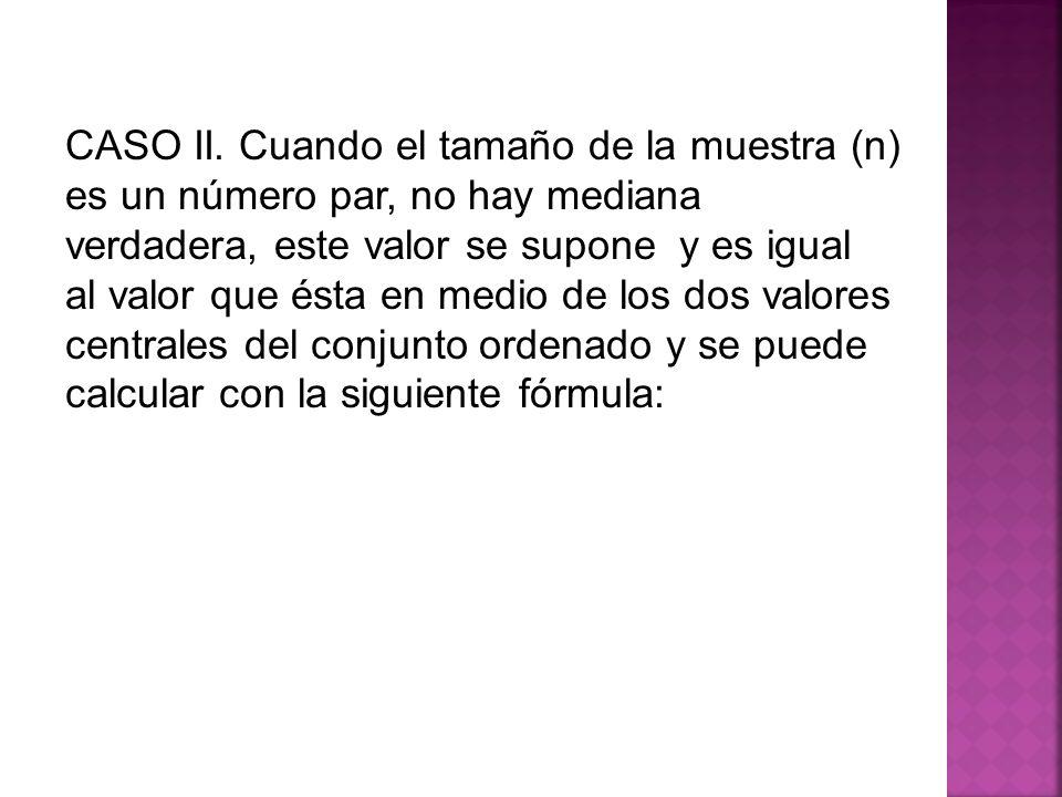 CASO II.