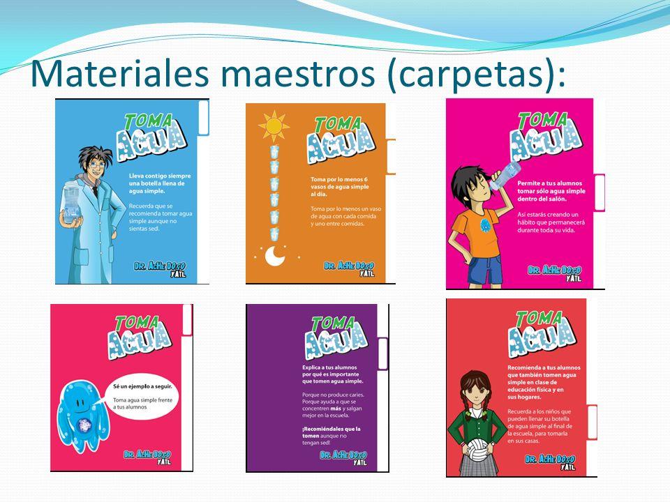 Materiales maestros (carpetas):