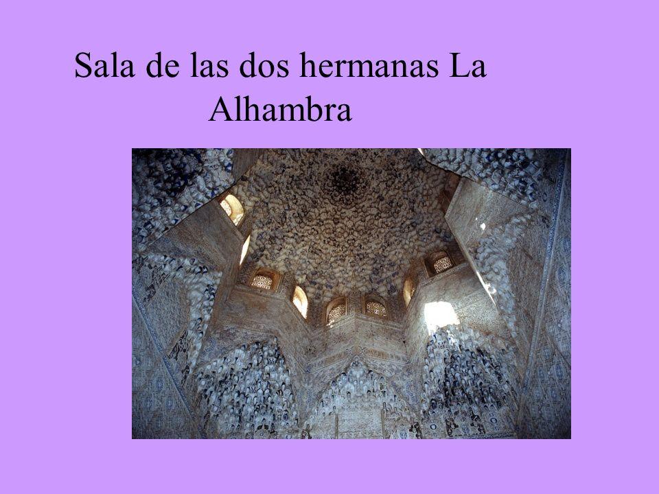 Sala de las dos hermanas La Alhambra