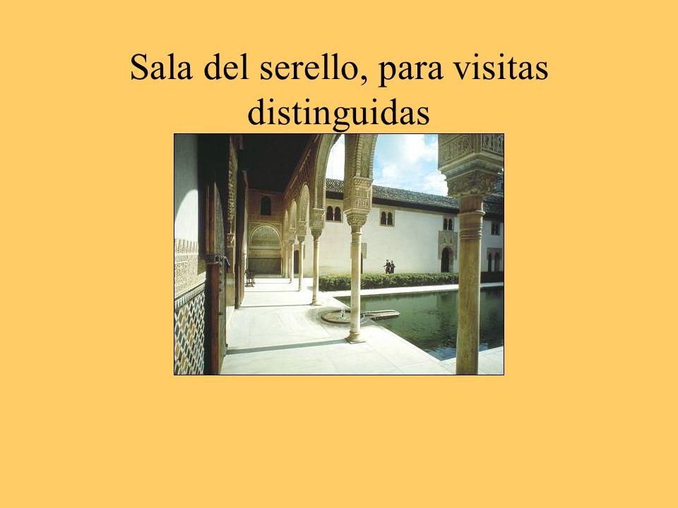 Sala del serello, para visitas distinguidas