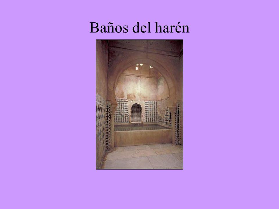 Baños del harén Sala de las dos hermanas