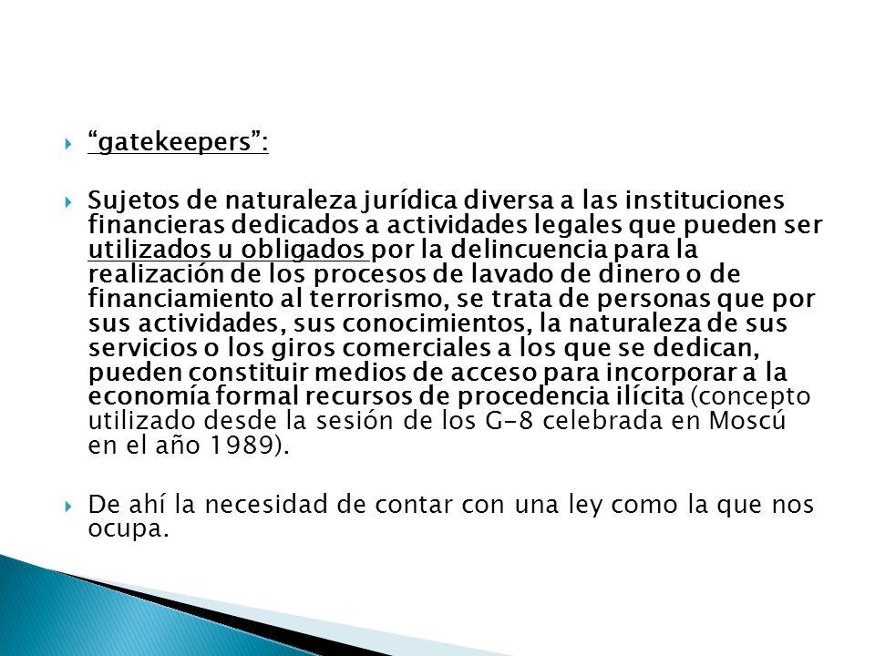 gatekeepers :