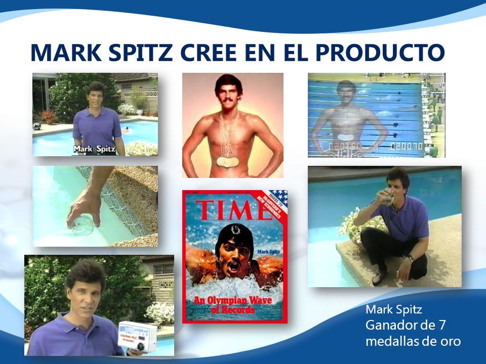 MARK SPITZ CREE EN EL PRODUCTO