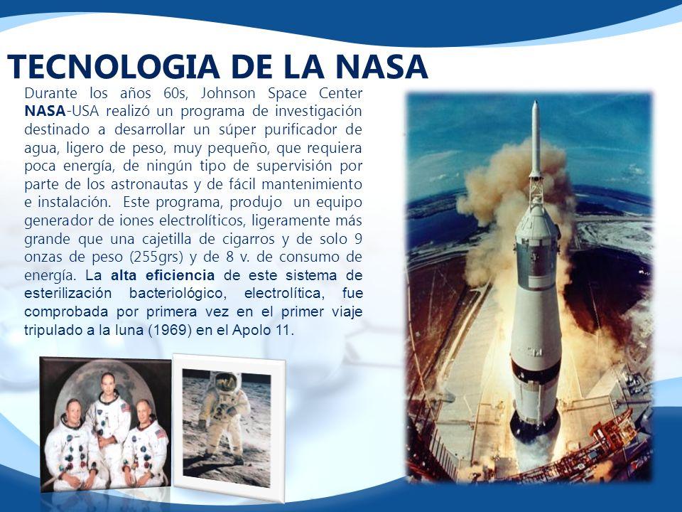 TECNOLOGIA DE LA NASA