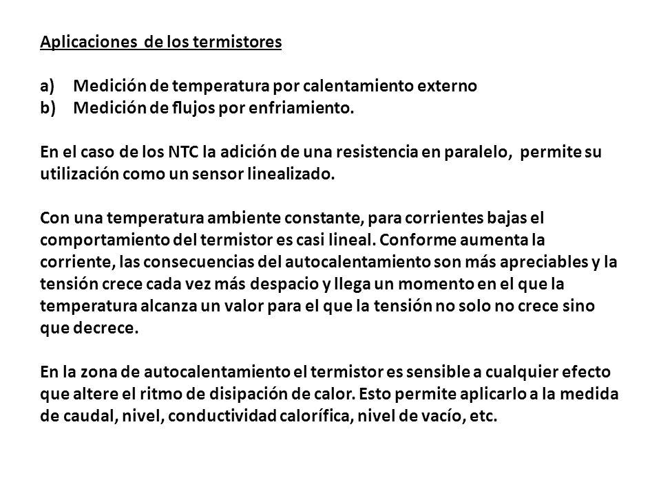 Aplicaciones de los termistores