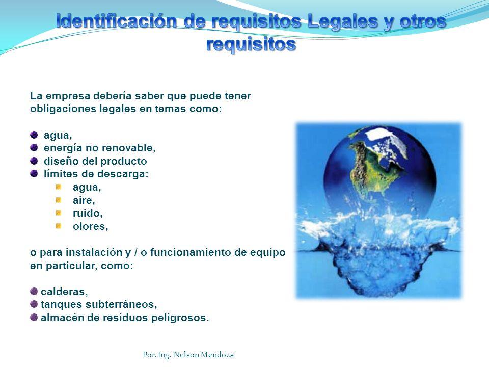 Identificación de requisitos Legales y otros requisitos