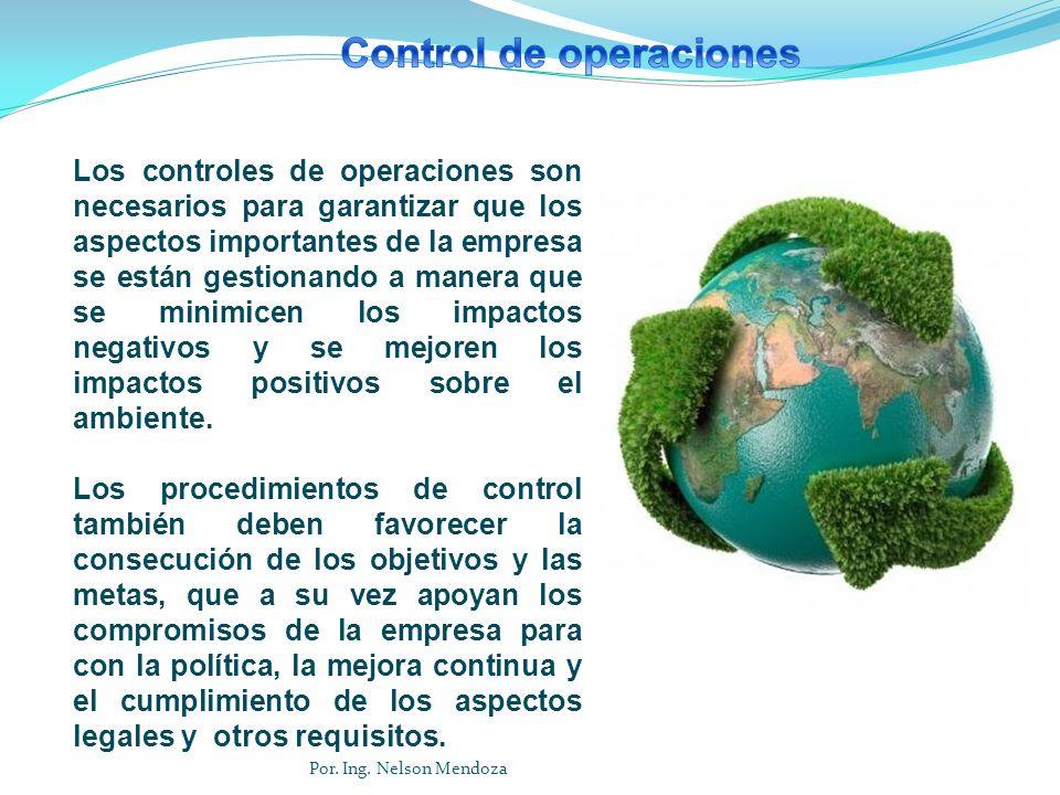 Control de operaciones