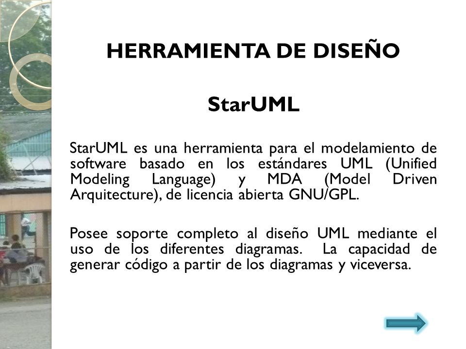HERRAMIENTA DE DISEÑO StarUML