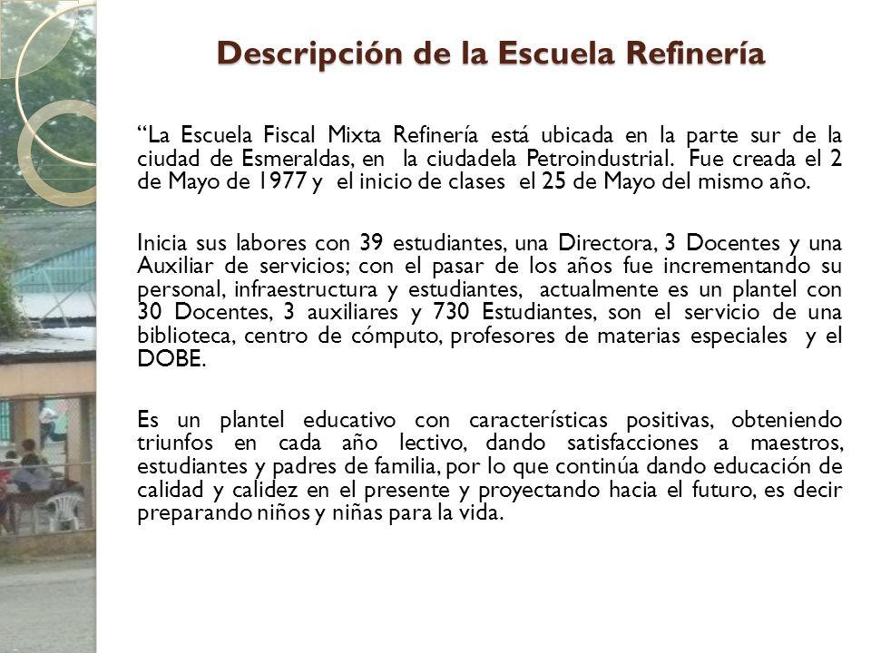 Descripción de la Escuela Refinería
