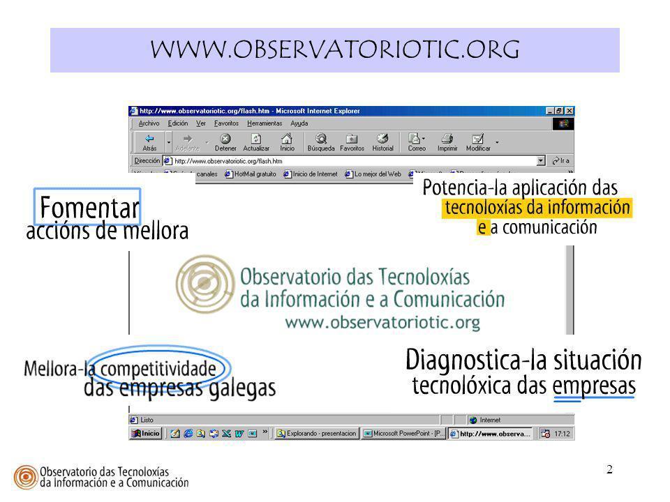 WWW.OBSERVATORIOTIC.ORG