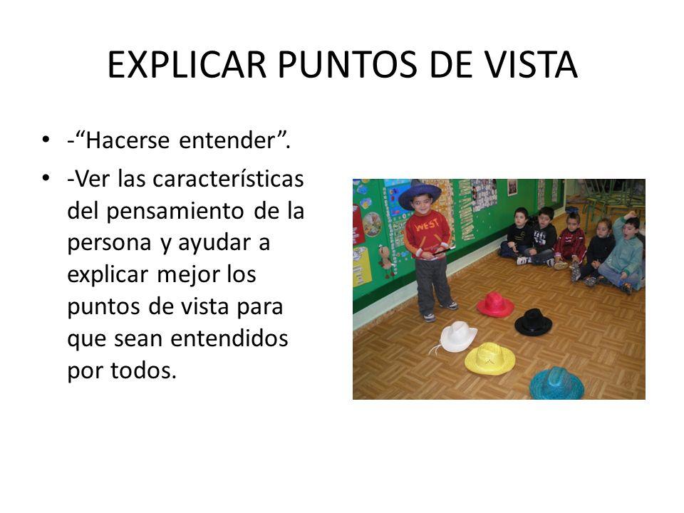 EXPLICAR PUNTOS DE VISTA