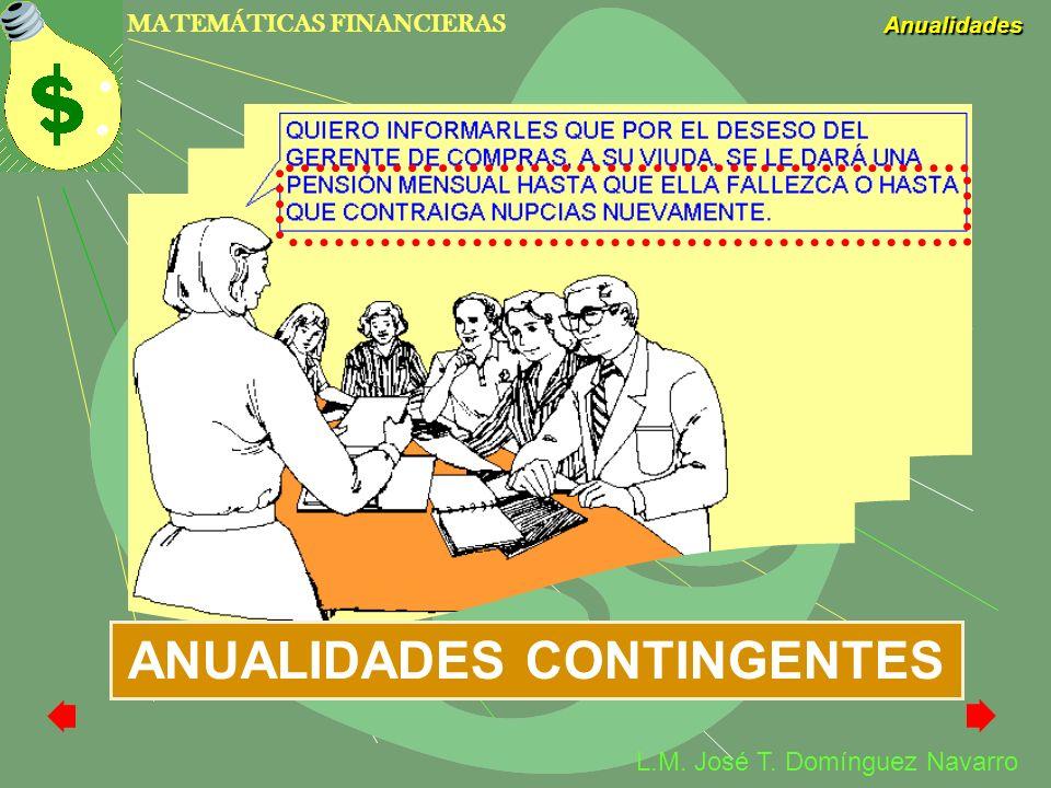 ANUALIDADES CONTINGENTES