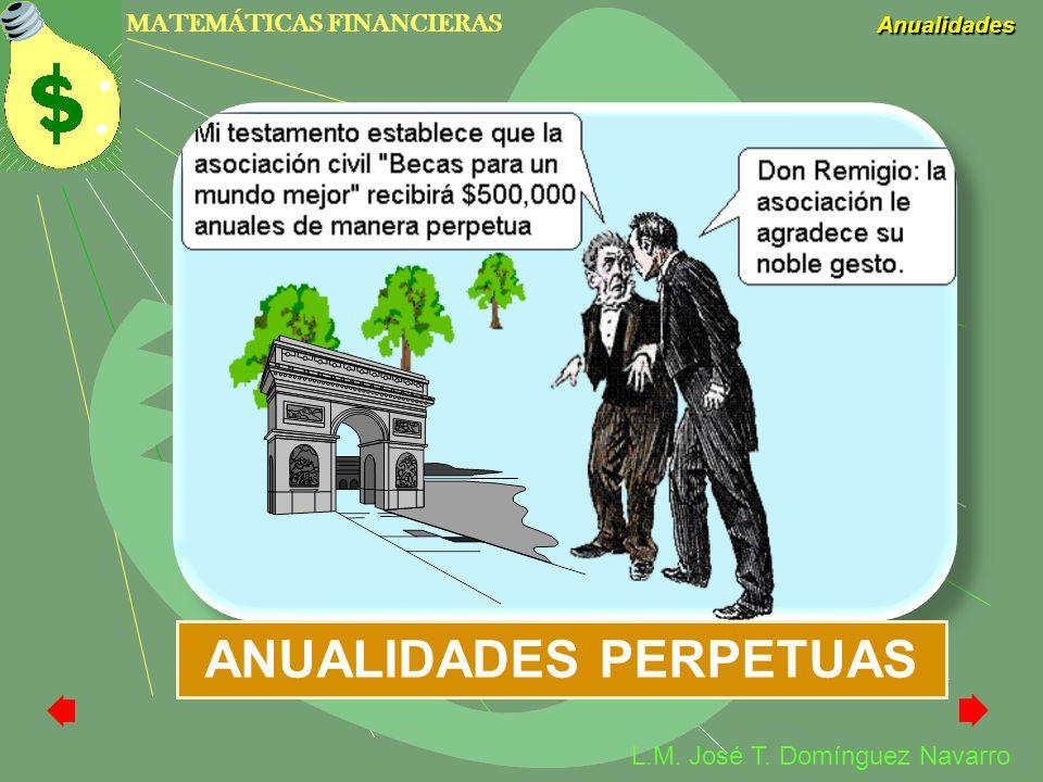 ANUALIDADES PERPETUAS