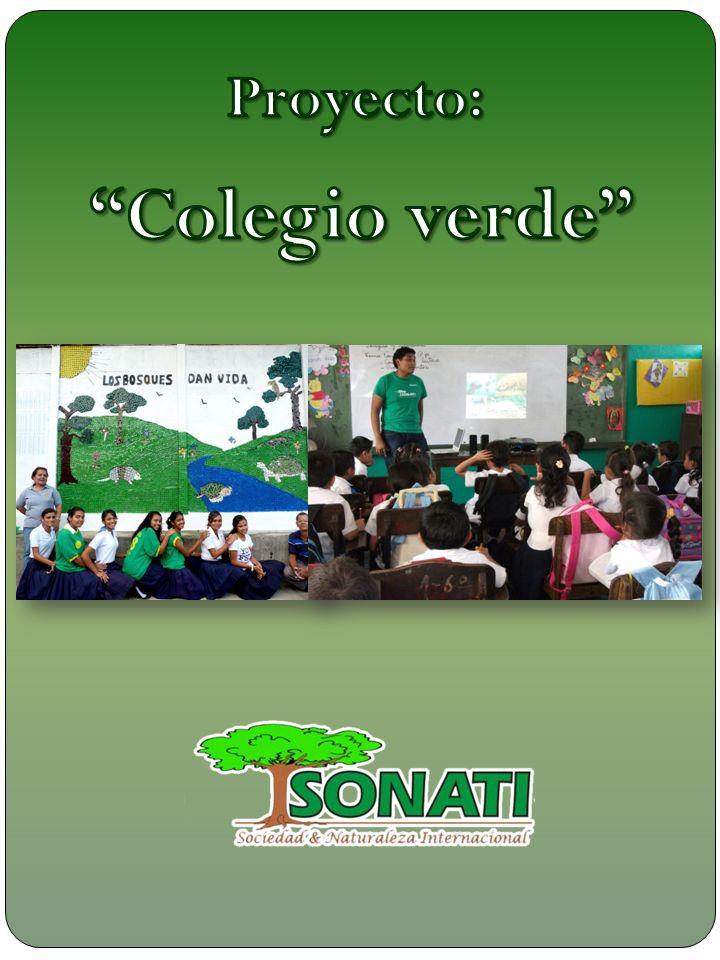 Proyecto: Colegio verde