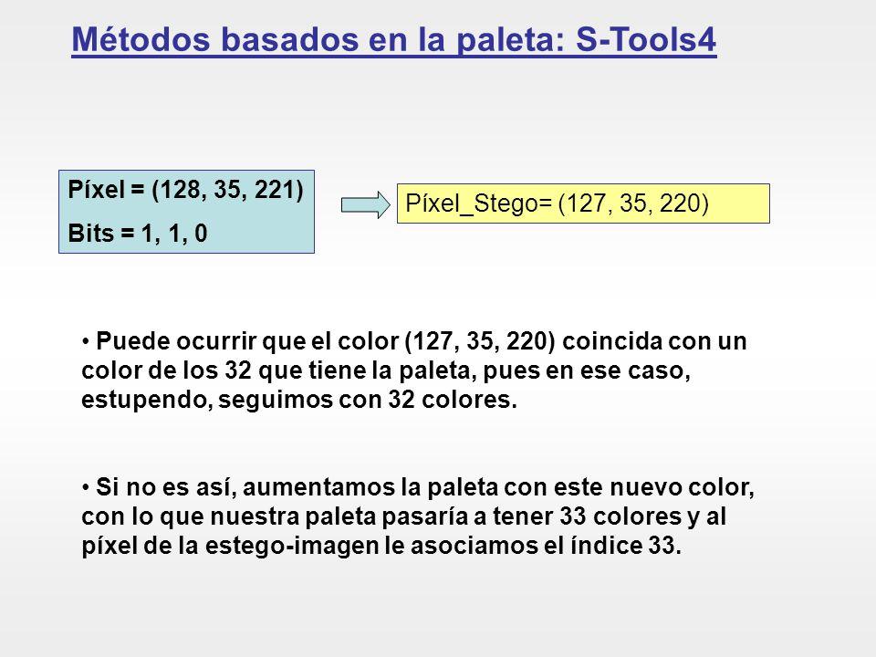 Métodos basados en la paleta: S-Tools4