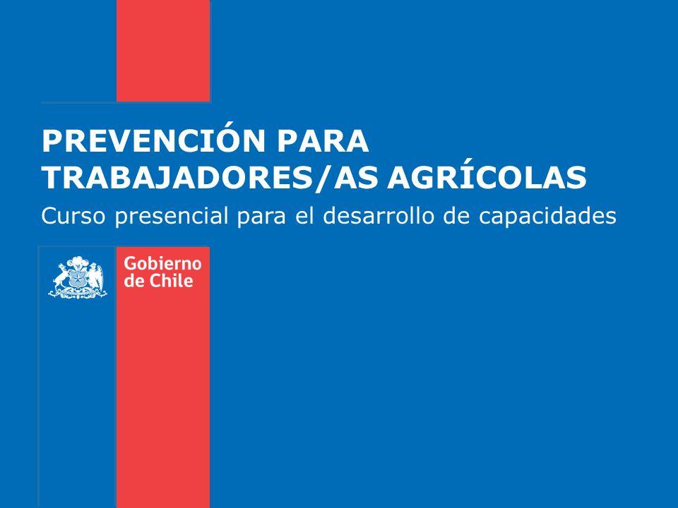 PREVENCIÓN PARA TRABAJADORES/AS AGRÍCOLAS
