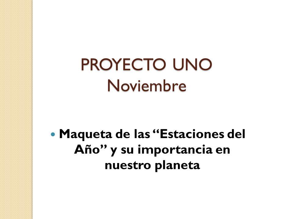 PROYECTO UNO Noviembre