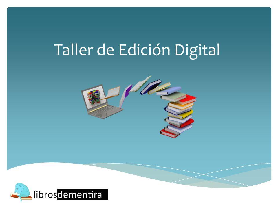 Taller de Edición Digital