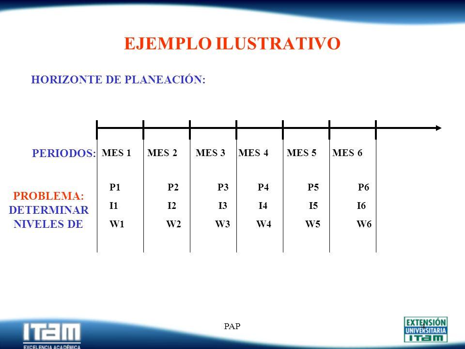 HORIZONTE DE PLANEACIÓN: