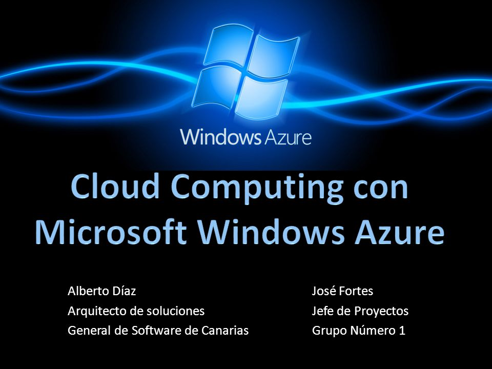 Cloud Computing con Microsoft Windows Azure