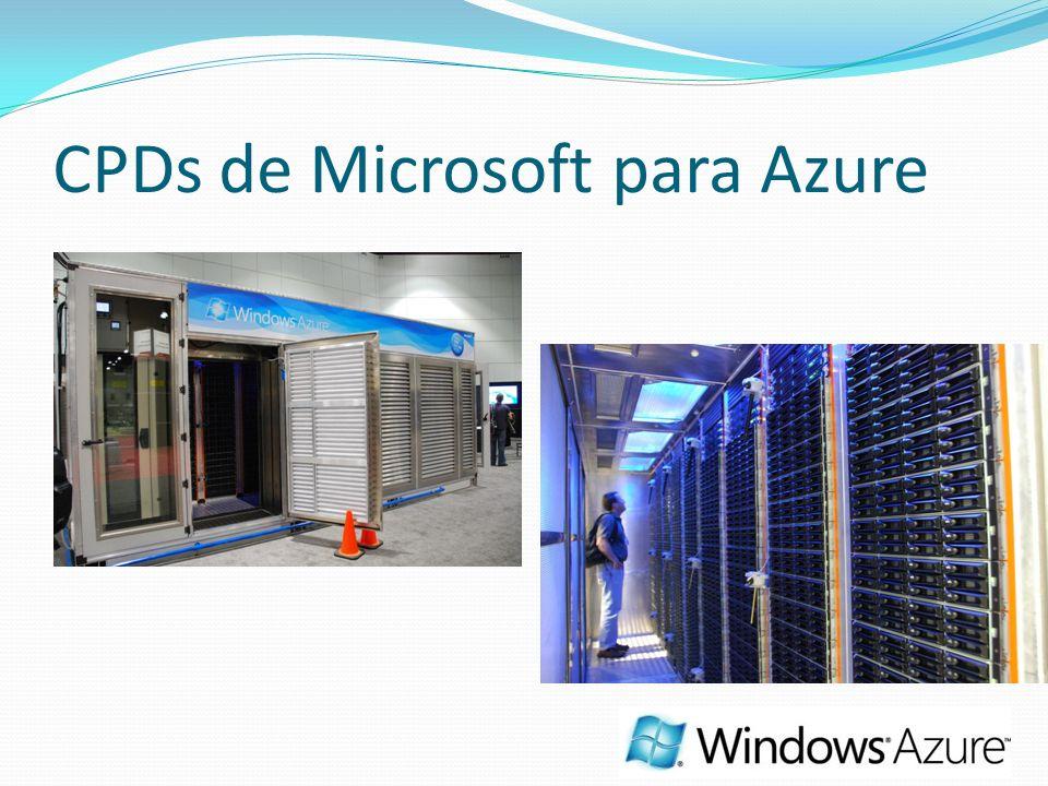 CPDs de Microsoft para Azure
