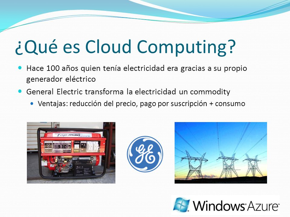 ¿Qué es Cloud Computing