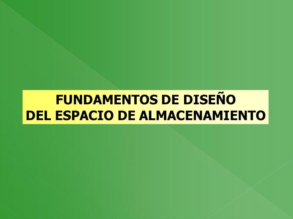 DEL ESPACIO DE ALMACENAMIENTO
