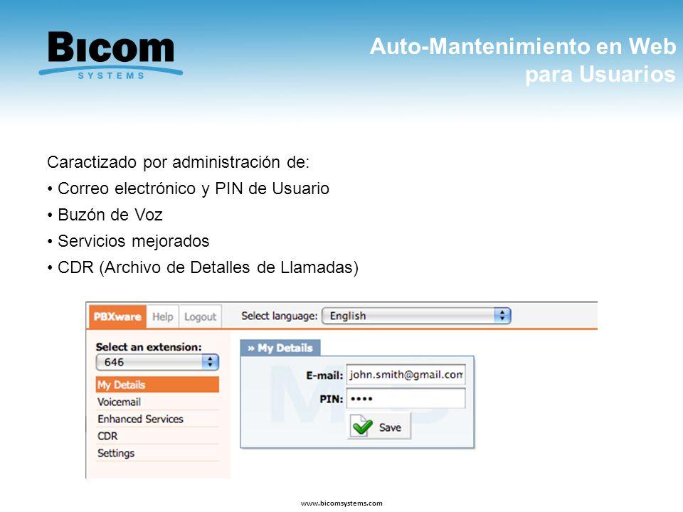 Auto-Mantenimiento en Web para Usuarios