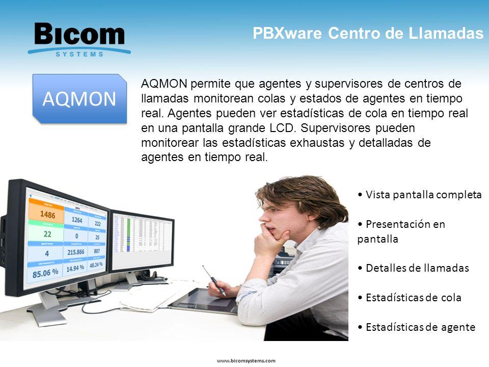 AQMON PBXware Centro de Llamadas
