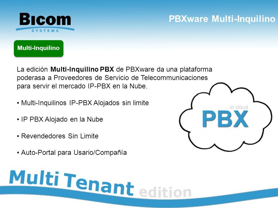 PBXware Multi-Inquilino