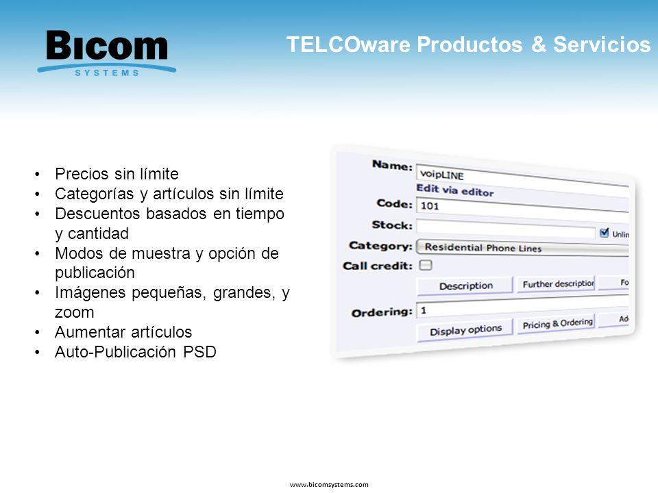 TELCOware Productos & Servicios