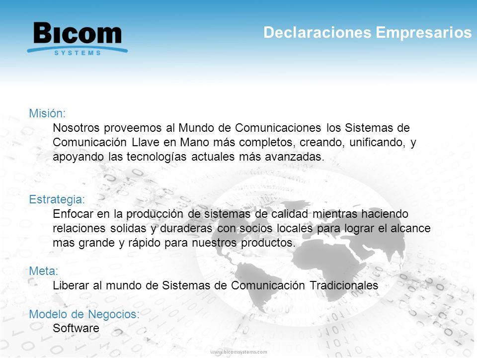 Declaraciones Empresarios