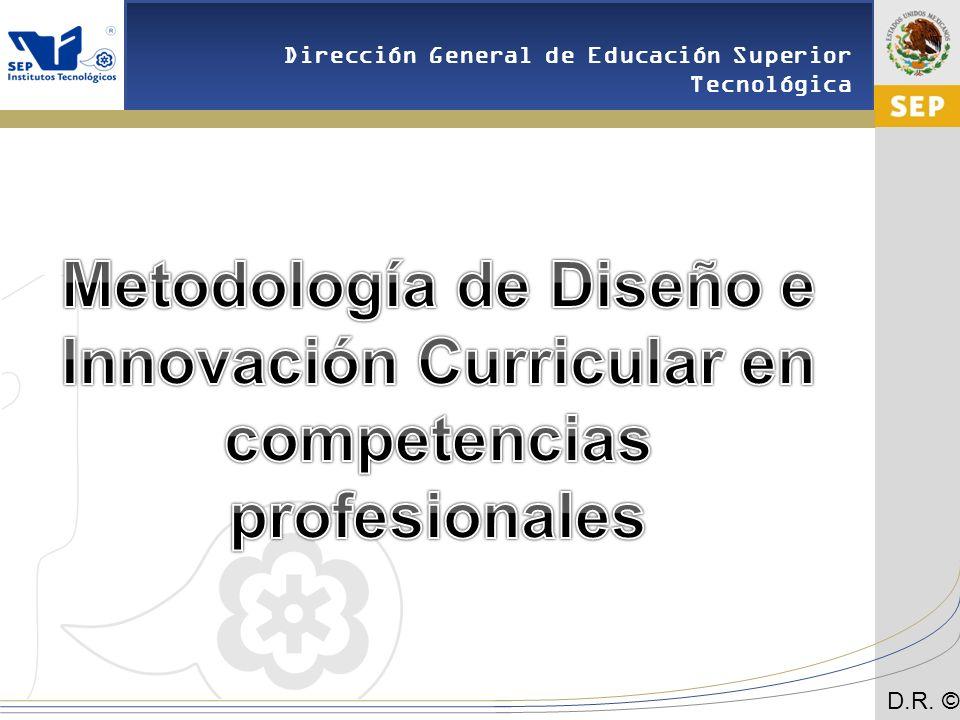Metodología de Diseño e Innovación Curricular en competencias profesionales