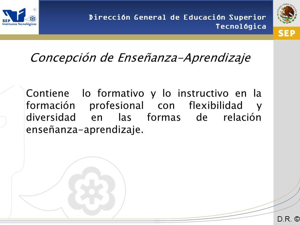 Concepción de Enseñanza-Aprendizaje