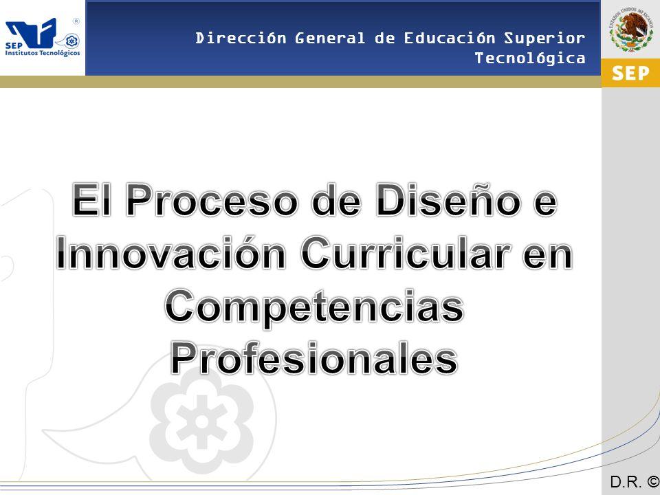 El Proceso de Diseño e Innovación Curricular en Competencias Profesionales