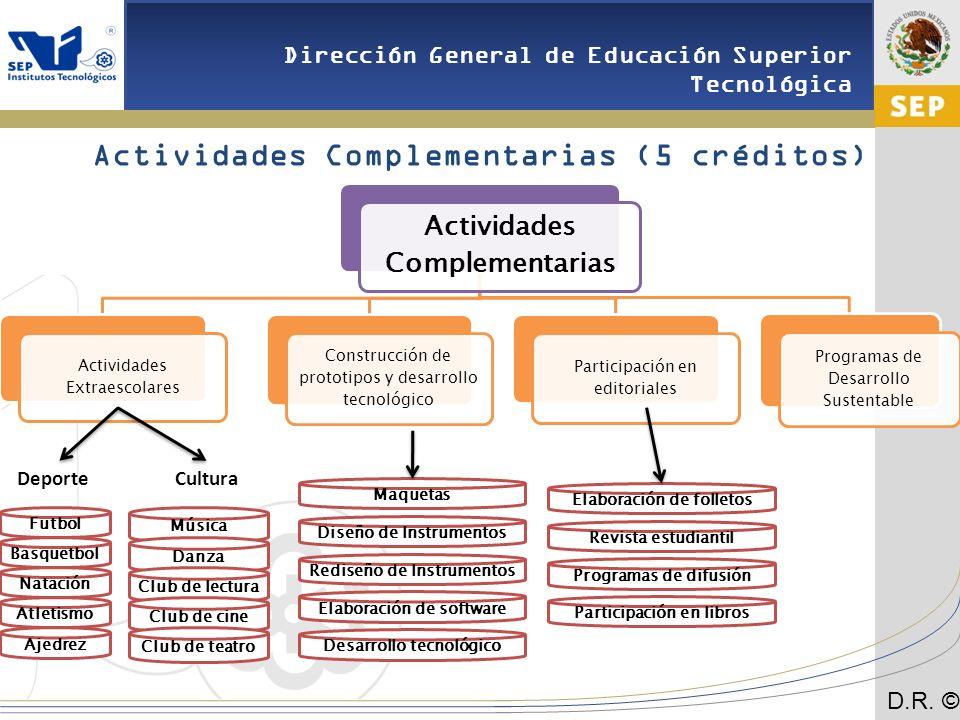 Actividades Complementarias (5 créditos)
