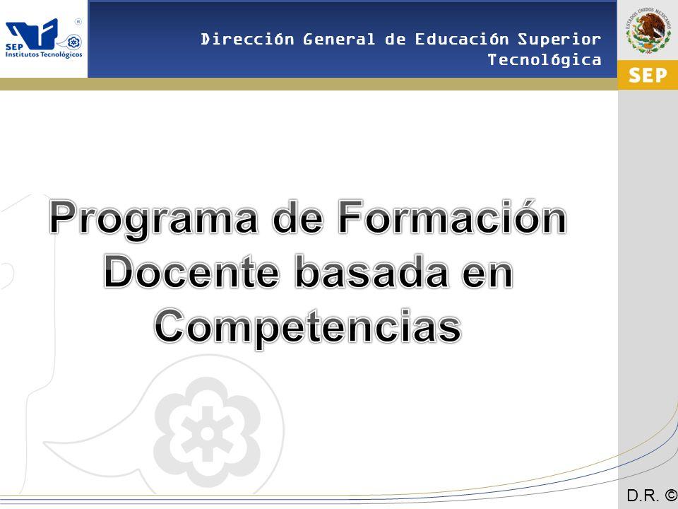 Programa de Formación Docente basada en Competencias
