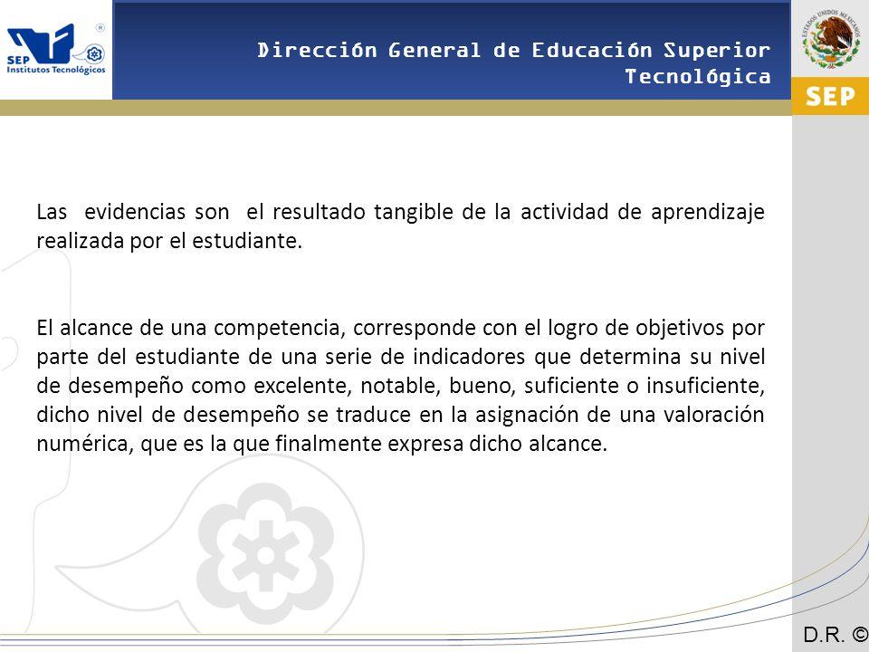 Las evidencias son el resultado tangible de la actividad de aprendizaje realizada por el estudiante.