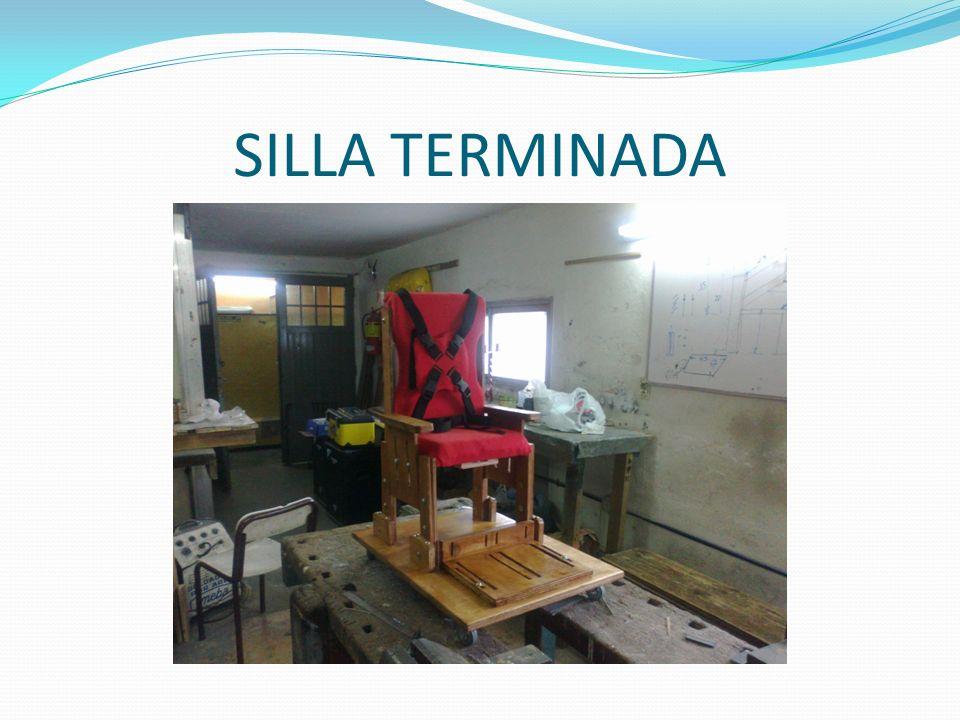 SILLA TERMINADA
