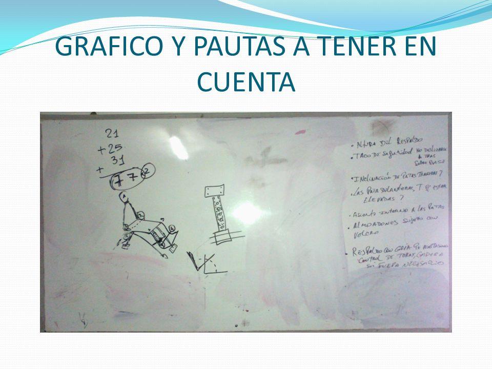 GRAFICO Y PAUTAS A TENER EN CUENTA