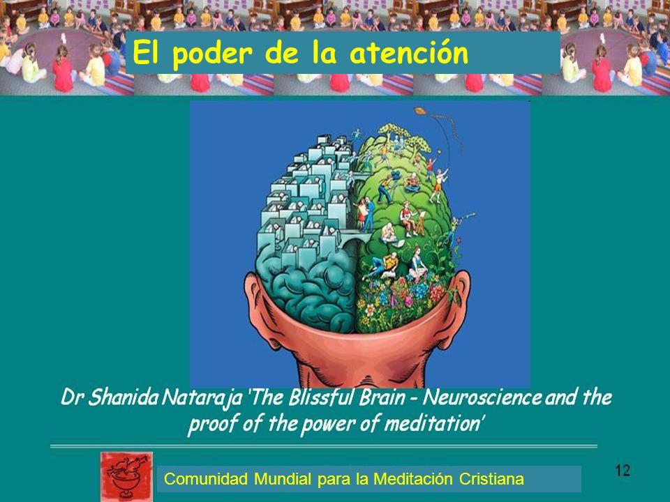 El poder de la atención Comunidad Mundial para la Meditación Cristiana
