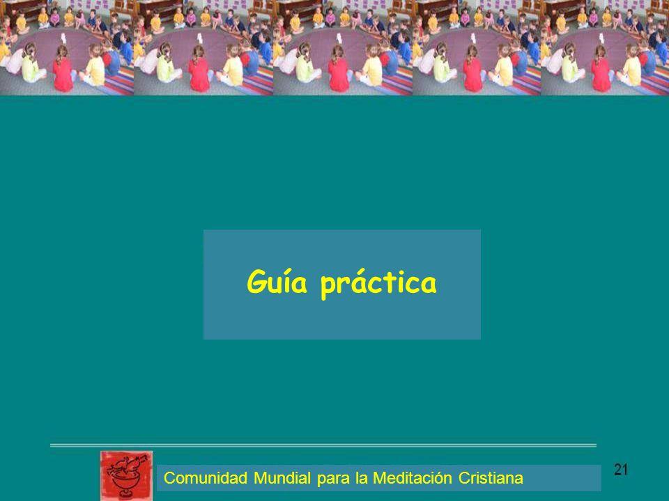 Guía práctica Comunidad Mundial para la Meditación Cristiana