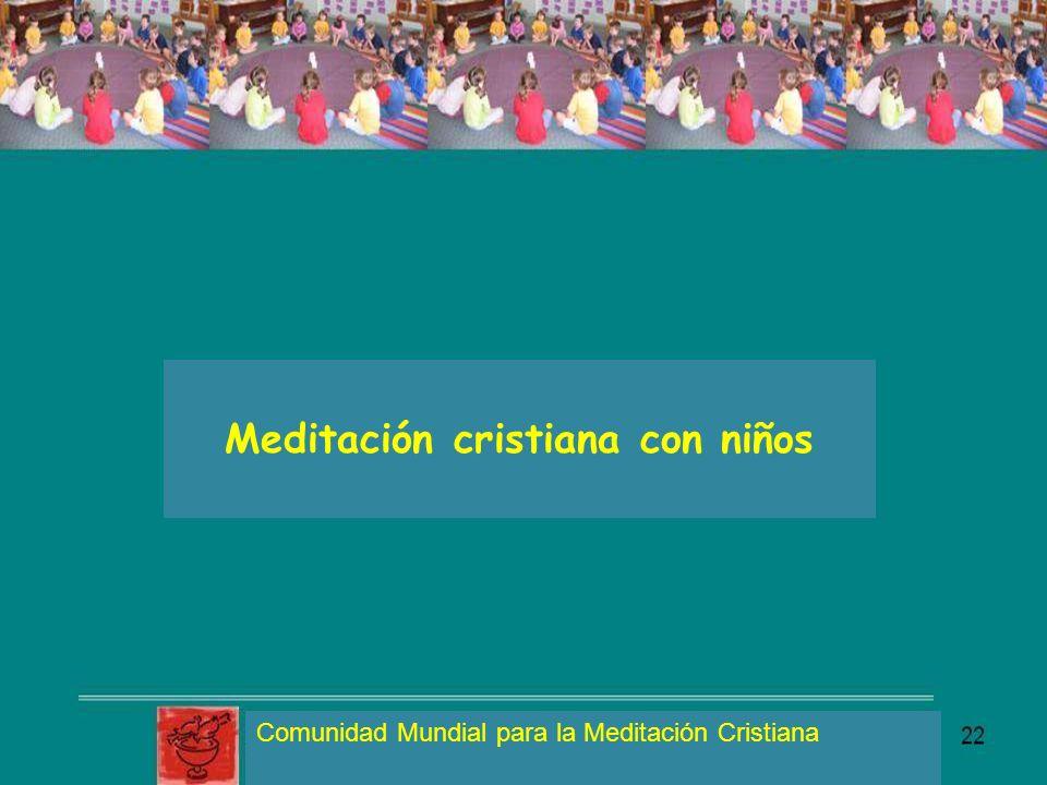 Meditación cristiana con niños